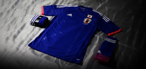 japan world cup shirt front complete 600x286 Japan World Cup Shirt For 2014 Tournament In Brazil From adidas: Official [PHOTOS]