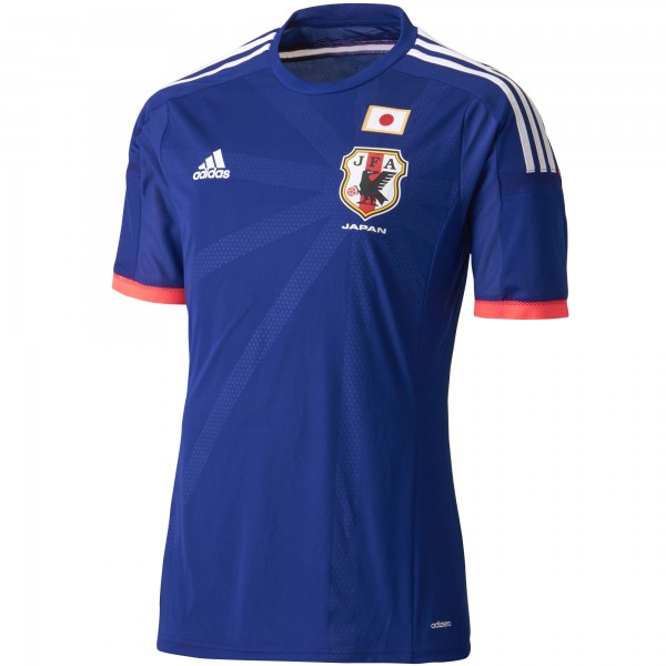 japan world cup shirt sleeve 600x600 Japan World Cup Shirt For 2014 Tournament In Brazil From adidas: Official [PHOTOS]