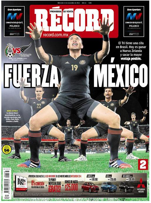 mexico new zealand Mexico vs New Zealand, World Cup Playoff 1st Leg: Open Thread