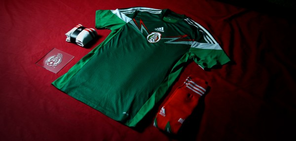 mexico world cup shirt complete 600x286 Where to Buy the Mexico World Cup Shirt for 2014: Official [PHOTOS]