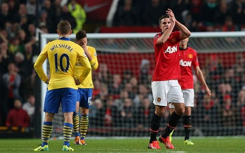 robin van persie2 Manchester United Will Continue To Build On Their Momentum Against Cardiff On Sunday