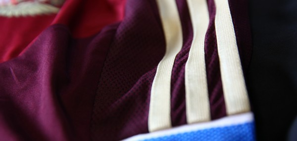 russia world cup 3 stripes 600x286 Russia World Cup Shirt For World Cup 2014 From adidas: Official [PHOTOS]