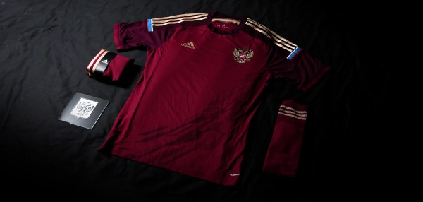 russia world cup shirt 600x286 Russia World Cup Shirt For World Cup 2014 From adidas: Official [PHOTOS]