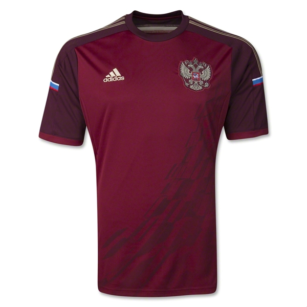 russia world cup shirt front Leaked Photos of World Cup Shirts That The 32 Teams Will Wear In Brazil