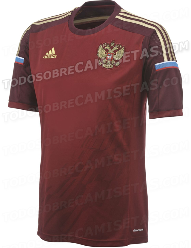 russia world cup shirt home Russia World Cup Home Shirt For Brazil 2014: Leaked [PHOTOS]