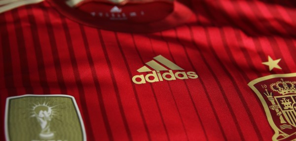 spain world cup shirt adidas 600x286 Spain 2014 World Cup Shirt From adidas: Official [PHOTOS]
