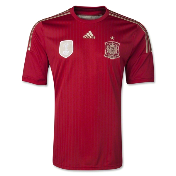 spain world cup shirt official Spain 2014 World Cup Shirt From adidas: Official [PHOTOS]