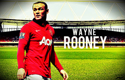 wayne rooney1 Wayne Rooney Becomes Only Second Person to Score 150 Goals for A Single Premier League Club [GIF]