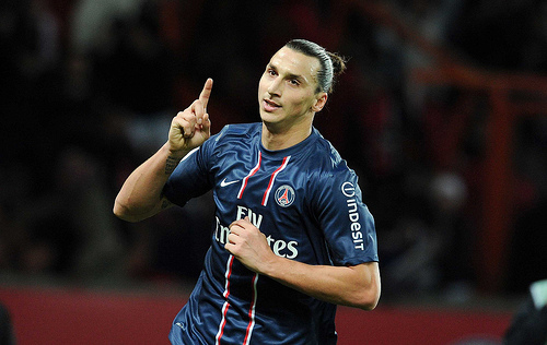 zlatan ibrahimovic1 Paris Saint Germain Announces Partnership With McDonalds; New PSG Menu Revealed