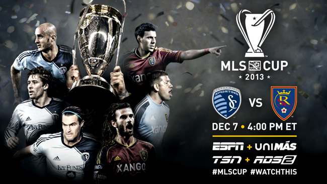 2013 mls cup Sporting Kansas City vs Real Salt Lake: 2013 MLS Cup