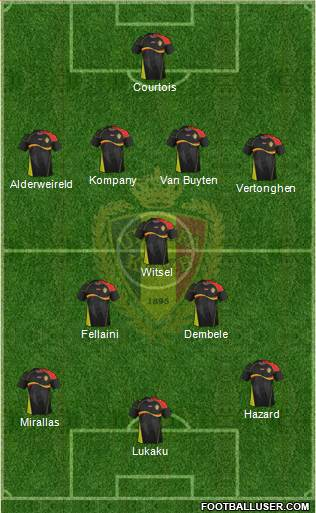 Belgium XI Belgium: World Cup 2014 Team Preview
