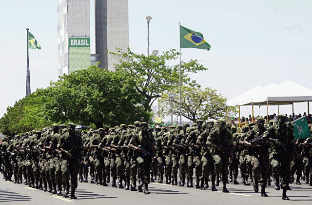 Brazilian Army Parade Could FIFA Be Brazil's Secret World Cup Weapon?