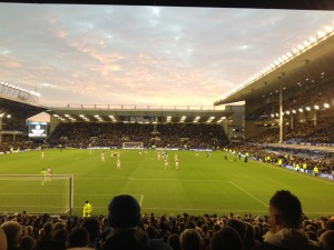 Goodison Park Looked Great As Everton Trounced Stoke City