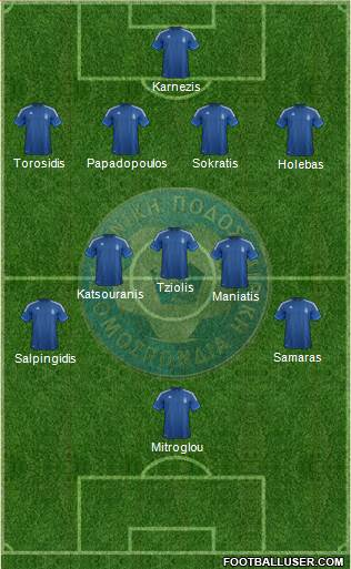 Greece XI Greece: World Cup 2014 Team Preview