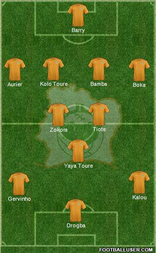 Ivory Coast Ivory Coast: World Cup 2014 Team Preview