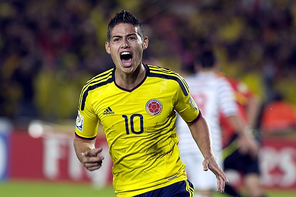 James Key Colombia: World Cup 2014 Team Preview