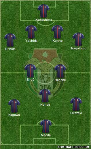 Japan XI Japan: World Cup 2014 Team Preview