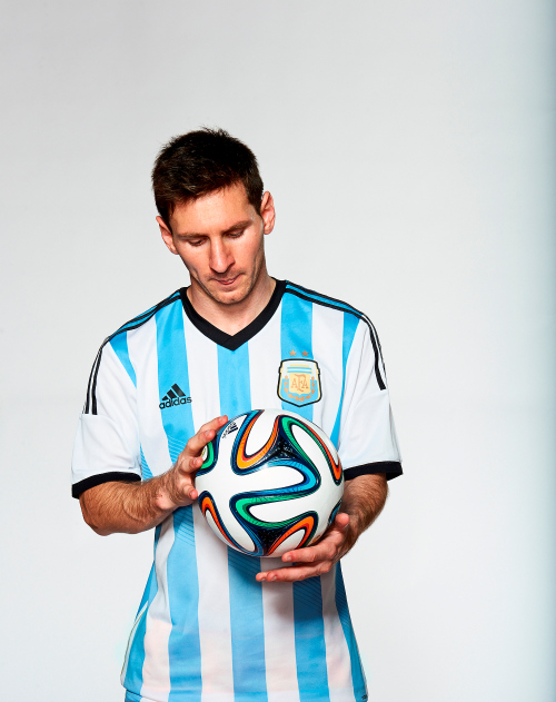 Messi brazuca adidas Unveil Official 2014 World Cup Ball Named brazuca [PHOTOS]