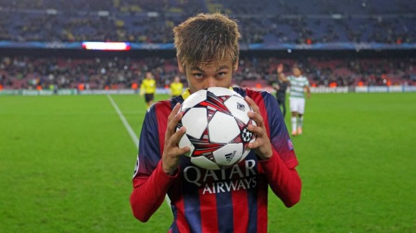 Neymar HAT 600x337 The Top 5 Must See Soccer Matches On Television This Weekend