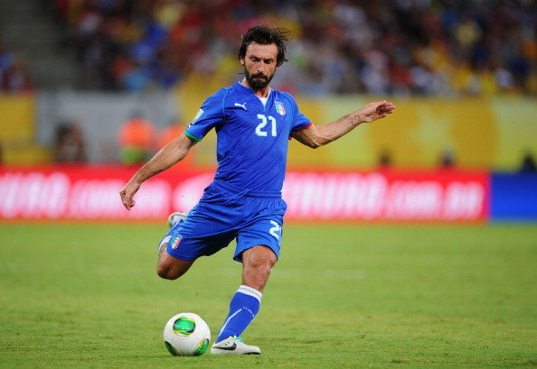 Pirlo Key Italy: World Cup 2014 Team Preview
