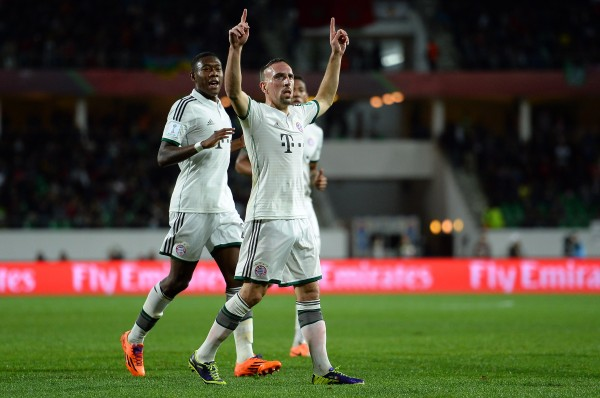 Ribery 600x398 The Top 5 Must See Soccer Matches On Television This Weekend