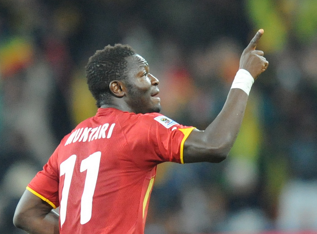 Sulley Muntari Sulley Muntari's Wish of Facing Atletico Madrid in the Champions League Will Be One He Regrets