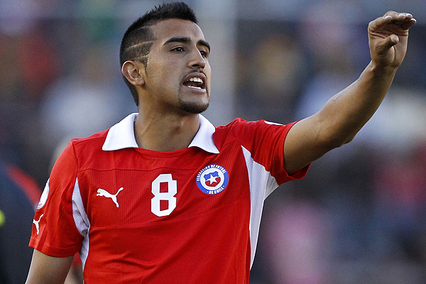 Vidal Key1 Chile: World Cup 2014 Team Preview
