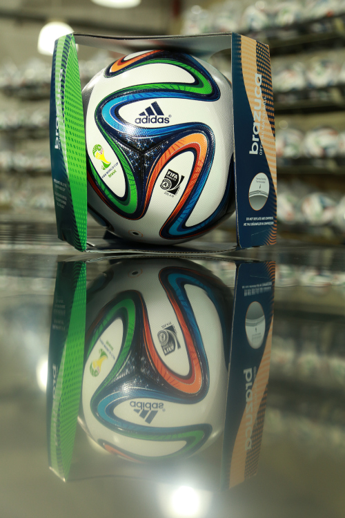 adidas brazuca boxed adidas Unveil Official 2014 World Cup Ball Named brazuca [PHOTOS]