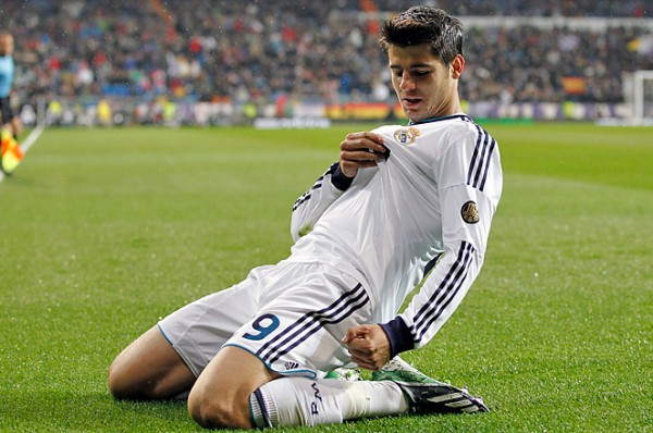 alvaro morata 600x398 Alvaro Morata Agrees Six Month Loan Move to Arsenal From Real Madrid: Daily Soccer Report