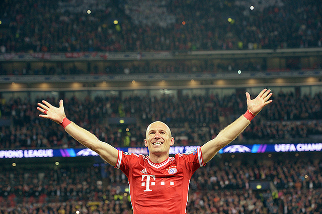 arjen robben Heading into a New Year, Bayern Munich Is Still The Team to Beat