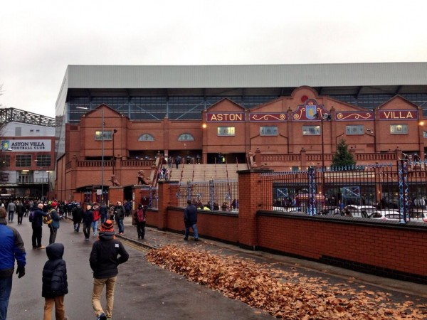 aston villa 600x450 Aston Villa Need a Plan B For Their Home Matches at Villa Park
