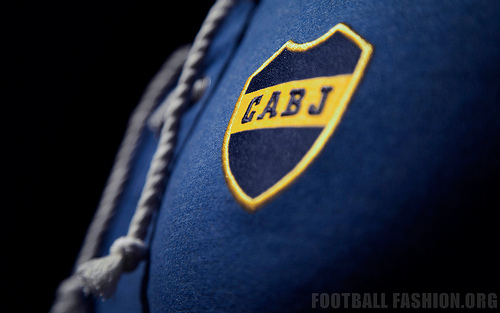 boca juniors club crest shirt Boca Juniors Home Shirt For 2014 Featuring A Retro Design From Nike [PHOTOS]