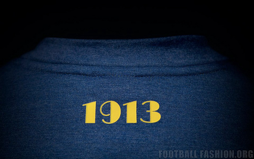 boca juniors home shirt back Boca Juniors Home Shirt For 2014 Featuring A Retro Design From Nike [PHOTOS]