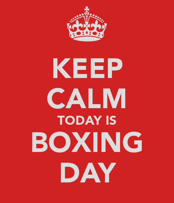 boxing day Premier League Gameweek 18, Boxing Day: Open Thread