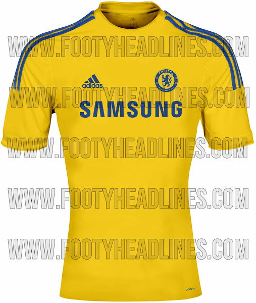 chelsea away shirt 2014 15 season Chelsea Home and Away Shirts For 2014/15 Season: Leaked [PHOTOS]