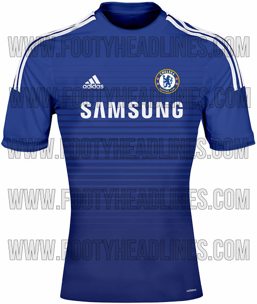 chelsea home shirt 2014 15 season Chelsea Home and Away Shirts For 2014/15 Season: Leaked [PHOTOS]