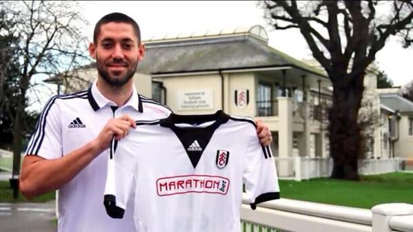 clint dempsey Clint Dempsey Signs Two Month Loan Deal With Fulham: Official [VIDEO]