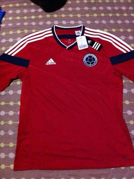 colombia away shirt world cup Colombia Away Shirt for FIFA World Cup 2014 From adidas: Leaked [PHOTO]