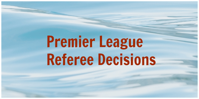 epl referee decisions Howard Webb Continues to Make Poor Referee Decisions: Reviewing the Premier League Referee Decisions, Gameweek 20