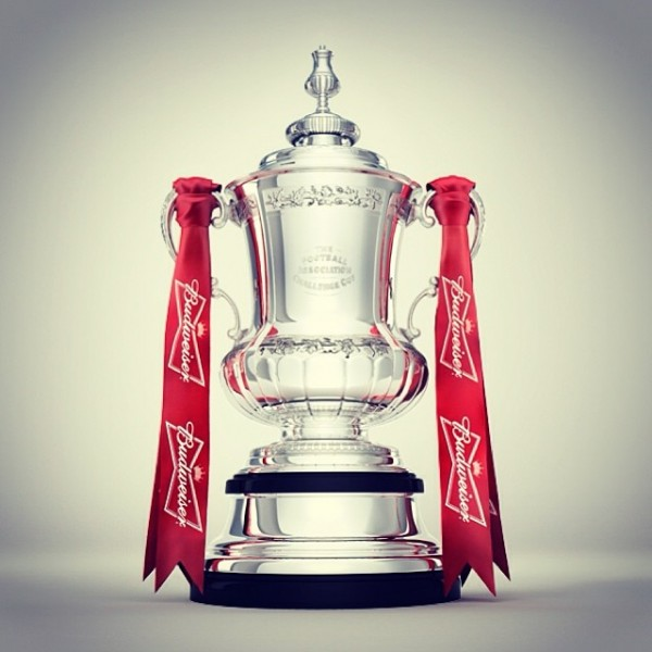 fa cup trophy 600x600 FA Cup Fifth Round Draw Announced; Manchester City Will Play Chelsea, While Arsenal Play Liverpool