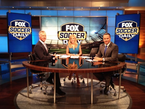 fox soccer daily FOX Soccer Daily Temporarily Off The Air As Execs Evaluate Show, Says Source