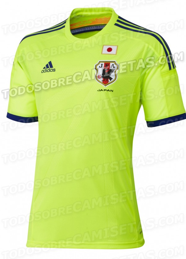 japan away shirt 2014 world cup 600x837 Leaked Photos of World Cup Shirts That The 32 Teams Will Wear In Brazil