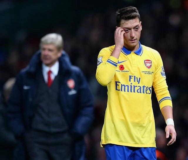 mesut ozil1 Arsenal Still Need Depth In Attack to Compete For Trophies