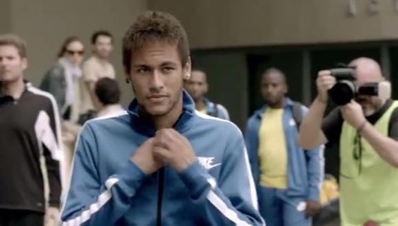 neymar1 Neymar and Thomas Muller Show Off Their Soccer Skills In New German Car Commercial [VIDEO]