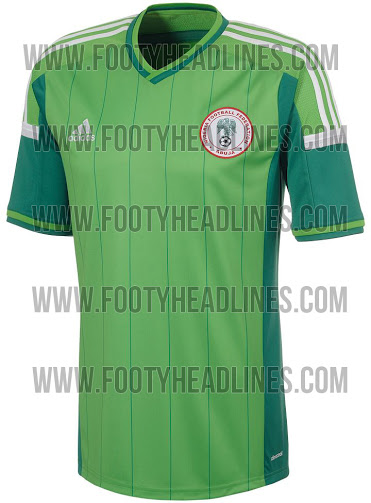 nigeria world cup 2014 shirt home Leaked Photos of World Cup Shirts That The 32 Teams Will Wear In Brazil