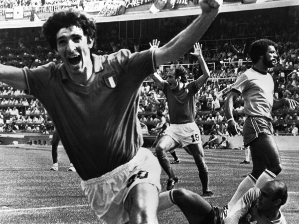 paolo rossi Paolo Rossi Haunts 1982 Demolition of Brazil In World Cup TV Commercial [VIDEO]