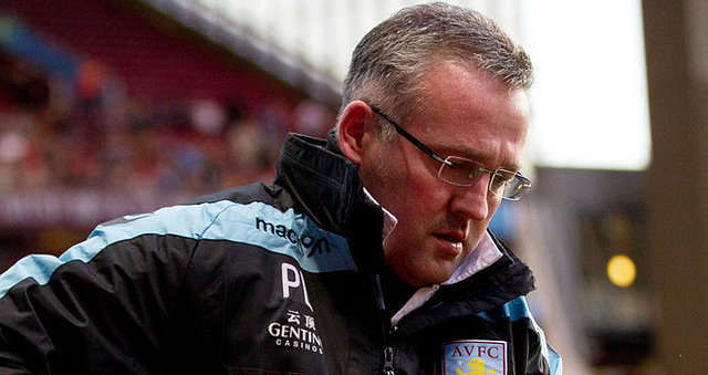 paul lambert Aston Villa Suffering An All Too Familiar Slide Down the Premier League Table Under Paul Lambert