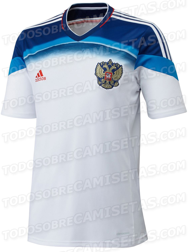 russia world cup away shirt Leaked Photos of World Cup Shirts That The 32 Teams Will Wear In Brazil