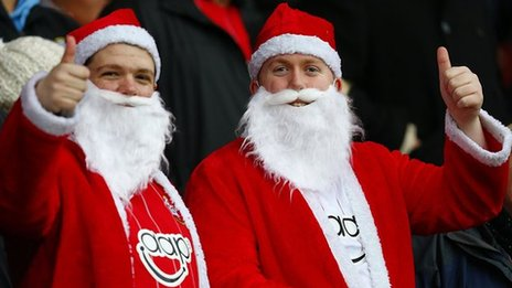santa claus While Fans Enjoy Their Holiday, Premier League Players And Managers Will Be Pushed To Their Limits