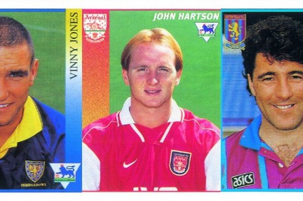 soccer stickers 5 Classic Premier League Footballers From The Past: A Walk Down Memory Lane